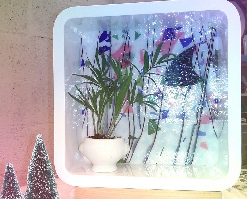 """""""Aquarium"""" vitrail"""